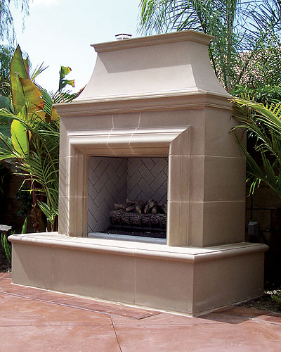 Outdoor Fireplaces | Patio Fireplace | Landscape Source - Macomb, MI